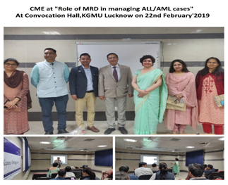 """Management of ALL/AML in MRD Patients"""" & """"Role of MRD in managing ALL/AML cases"""